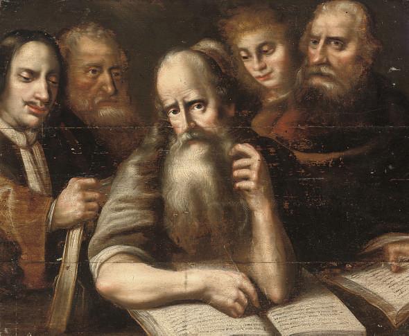 Manner of Otto van Veen