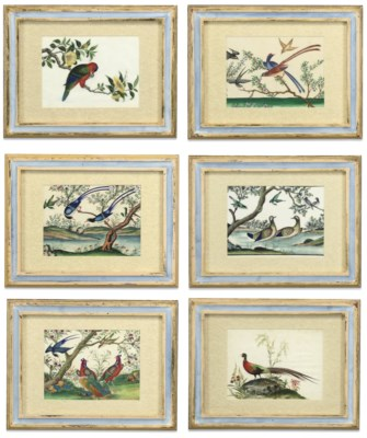 A SET OF TWELVE CHINESE RICE P