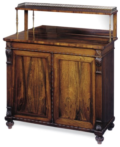 A LATE REGENCY ROSEWOOD CHIFFO