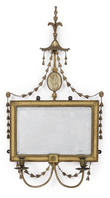 A REGENCY GILT AND COMPOSITION