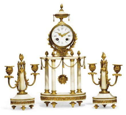 A French gilt-brass mounted ma