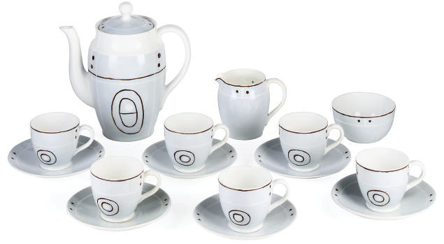 A BARBARA HEPWORTH COFFEE SERV