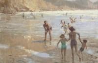 Bathers at Crackington Haven