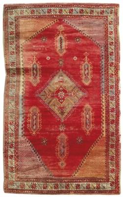 A large Turkish rug