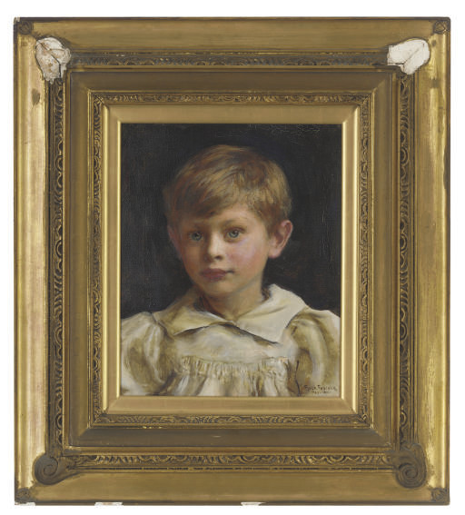 Portrait of Roderick Peter George Denman (b.1894) as a boy