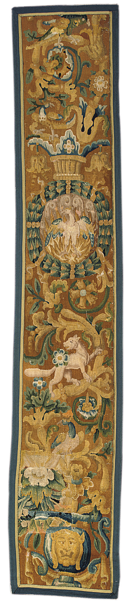 A TAPESTRY BORDER FRAGMENT