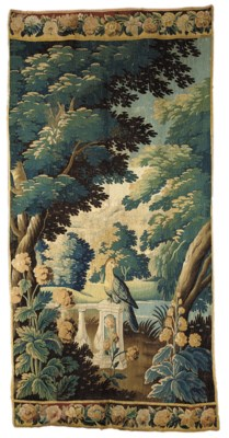 A VERTICAL TAPESTRY PANEL