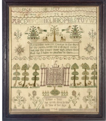 A SAMPLER BY ESTHER YELLS
