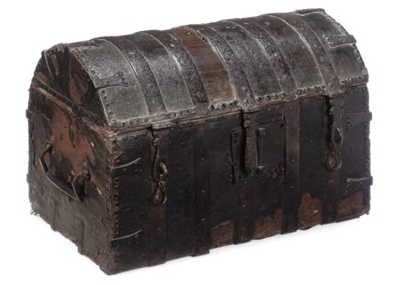 AN ENGLISH IRON-BOUND AND LEAT