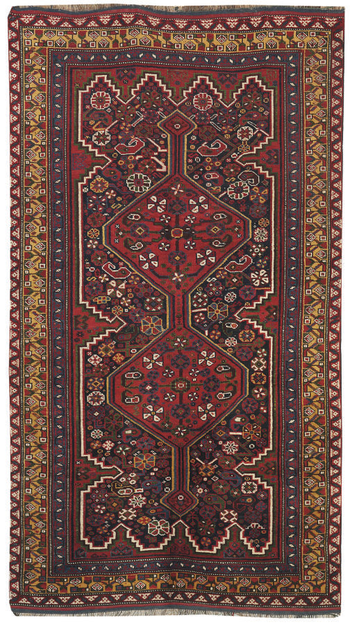 An Kurdish rug & Afghan runner