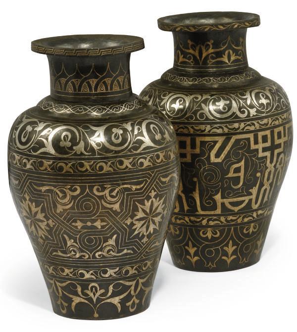 TWO SIMILAR EGYPTIAN OR SYRIAN