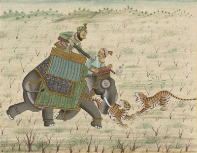 TWO INDIAN MINIATURES