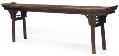 A CHINESE HARDWOOD ALTAR TABLE