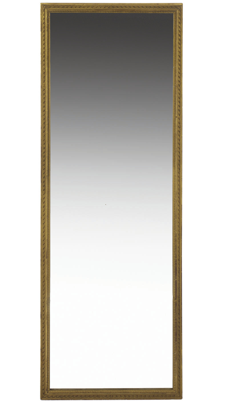 A PAIR OF GILTWOOD PIER MIRROR