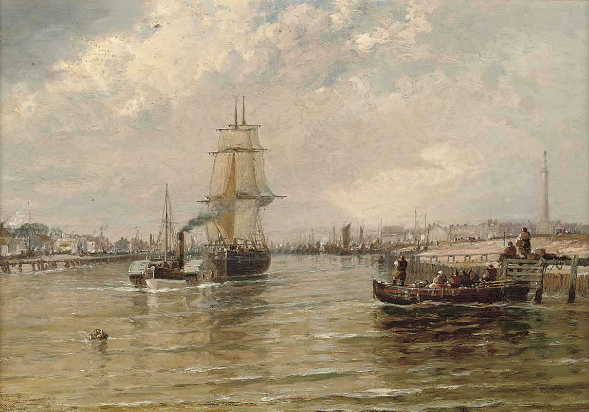 Yarmouth from Gorlestone ferry