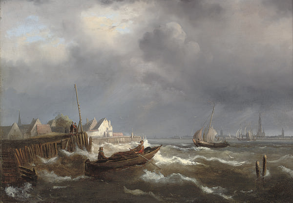 A breezy day on the Scheldt