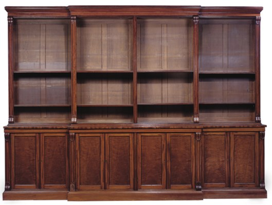 A LARGE WILLIAM IV MAHOGANY BR