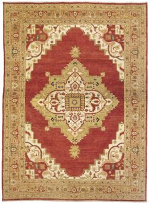 A massive Heriz carpet, North-