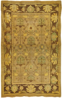An Arts & Crafts style carpet,