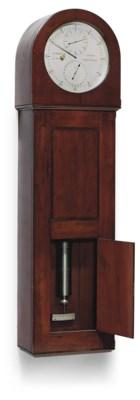 A Victorian mahogany eight-day