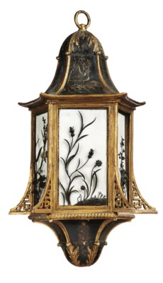A CHINOISSERIE AND GILTWOOD PE