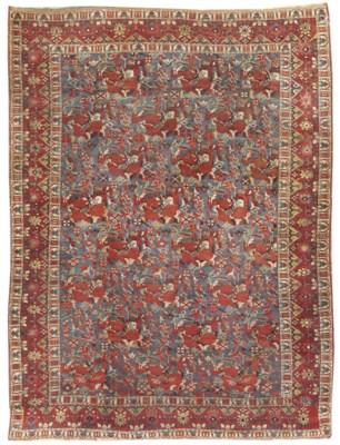A very fine antique Afshar rug