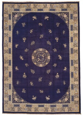 A massive fine Chinese carpet