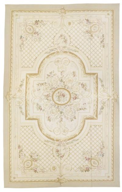 A fine Aubusson style carpet