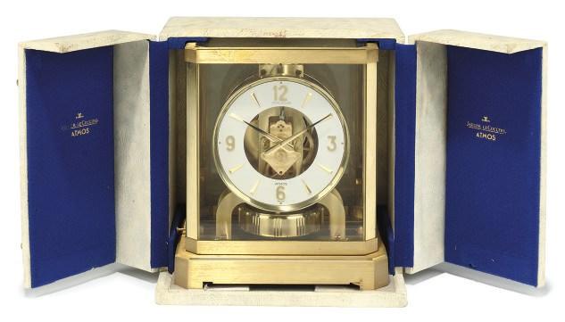 A gilt-brass Atmos clock in pr