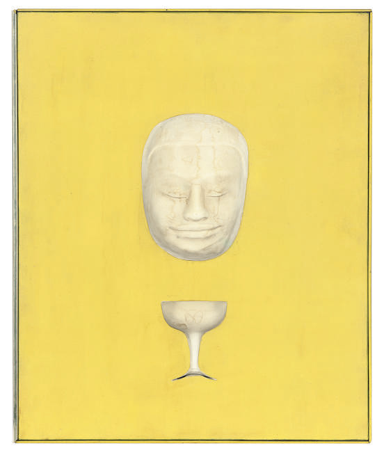 Face and glass