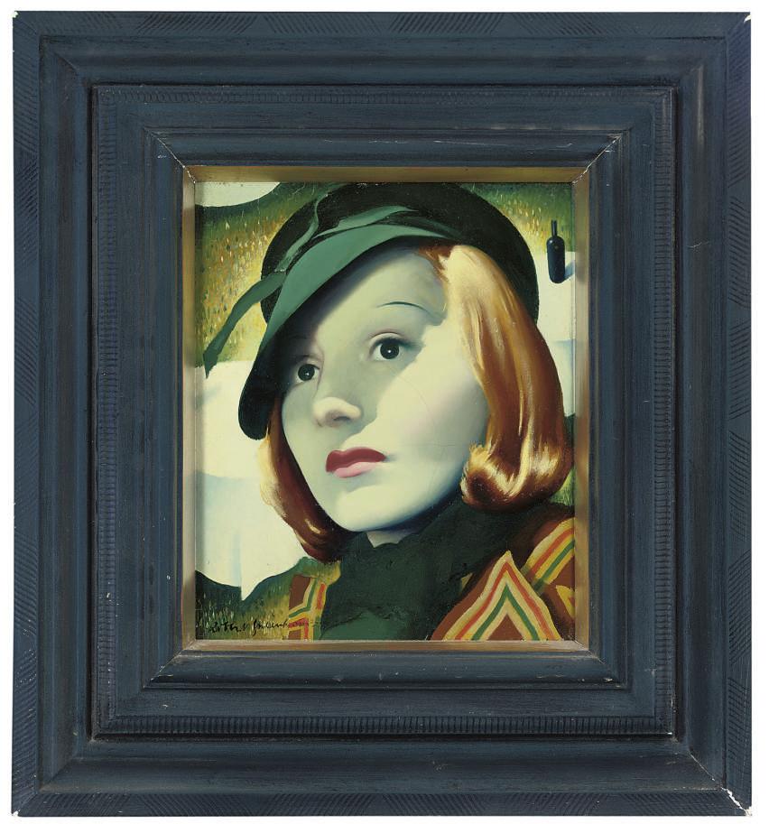 Portrait of Elizabeth Bergner (1897-1986)