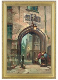 An entrance to Lincoln's Inn from Chancery Lane