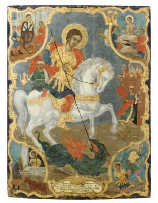 A VITA ICON OF ST. GEORGE