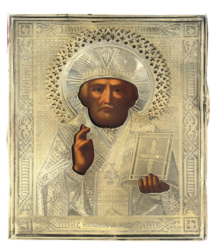 ST. NICHOLAS WITH A PARCEL-GIL
