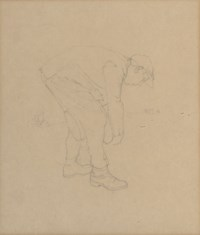 Study for 'The berry pickers'