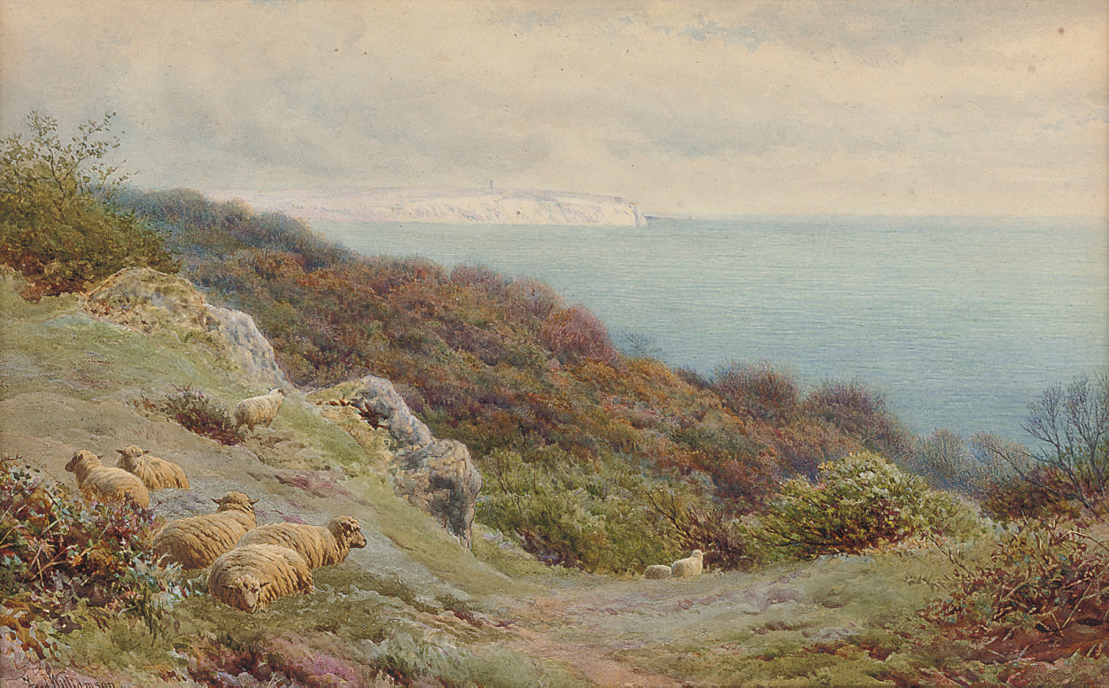 View towards Culver Point, Isle of Wight