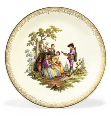 A MEISSEN CHARGER