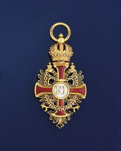 The cross of the Austrian Orde