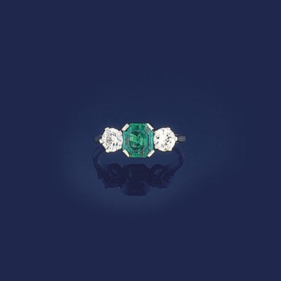 An early 20th century emerald