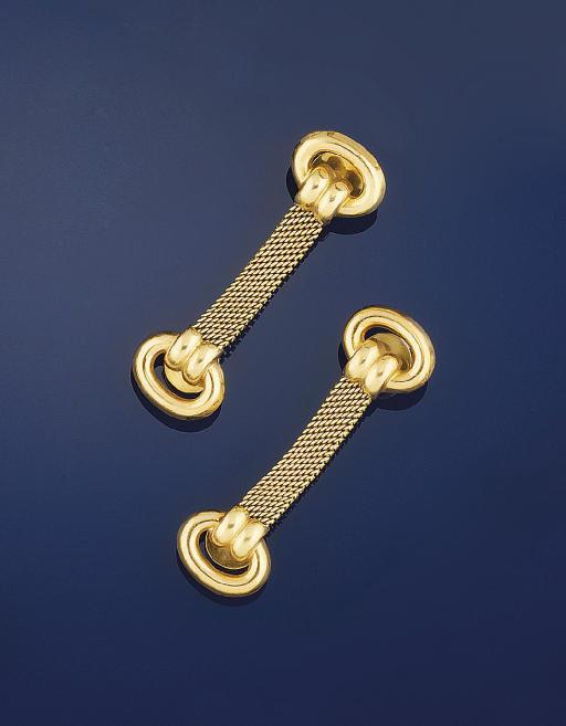 A pair of cufflinks, by Meiste