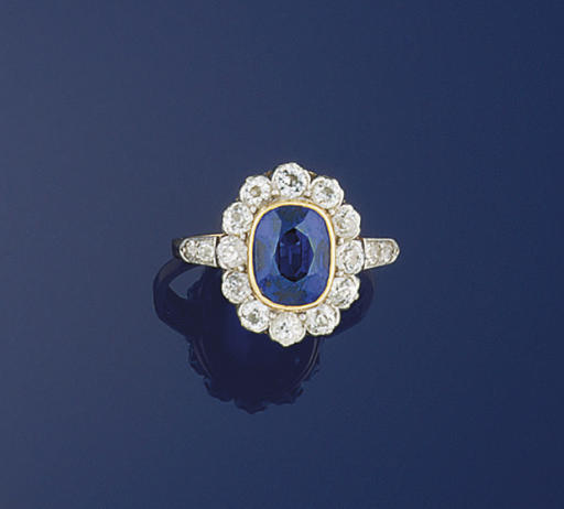 An early 20th century sapphire