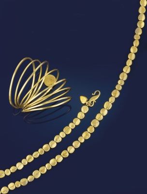 A GROUP OF 18CT. GOLD JEWELLER