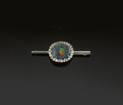 An early 20th century opal and