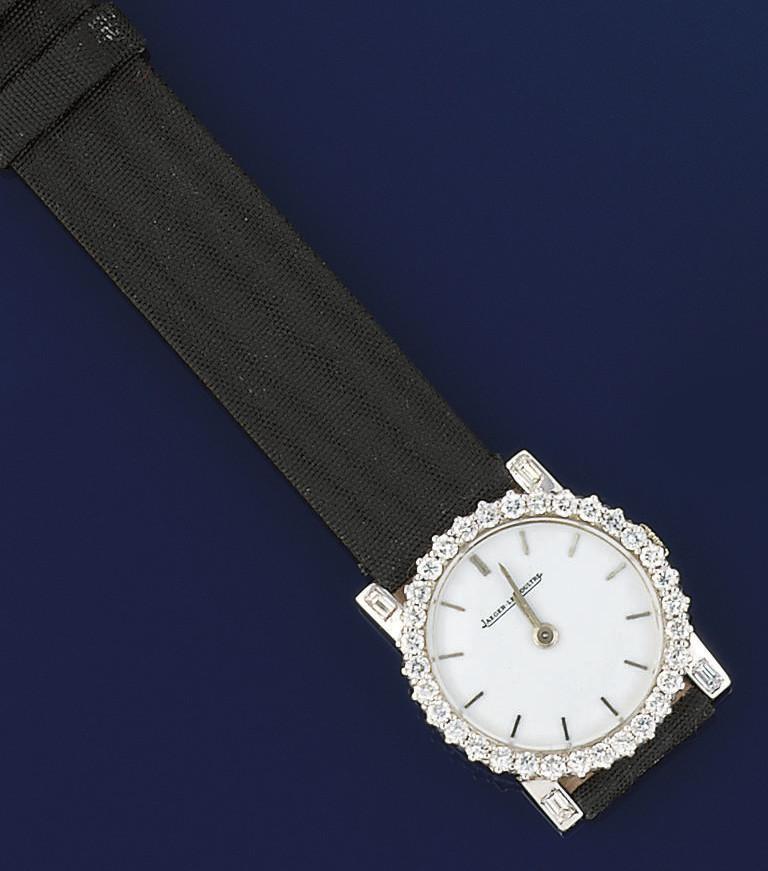 A lady's wristwatch, by Jaeger