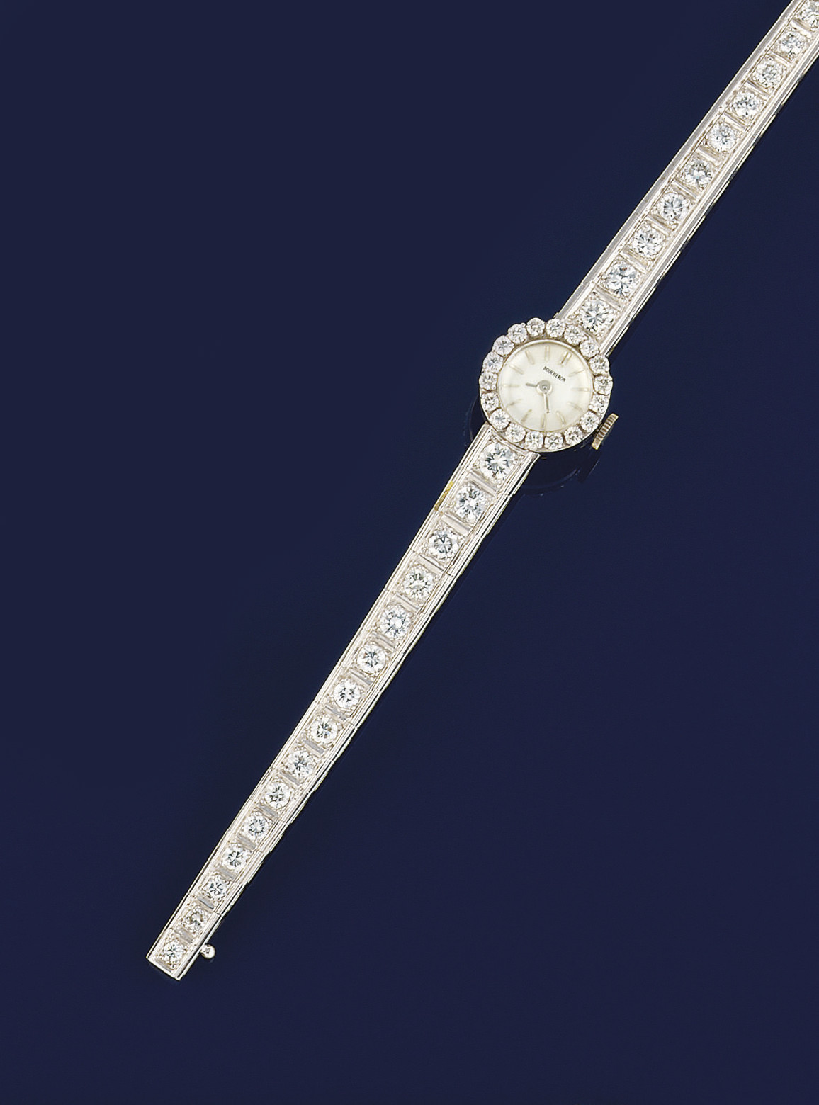 A DIAMOND WRISTWATCH, BY BOUCH