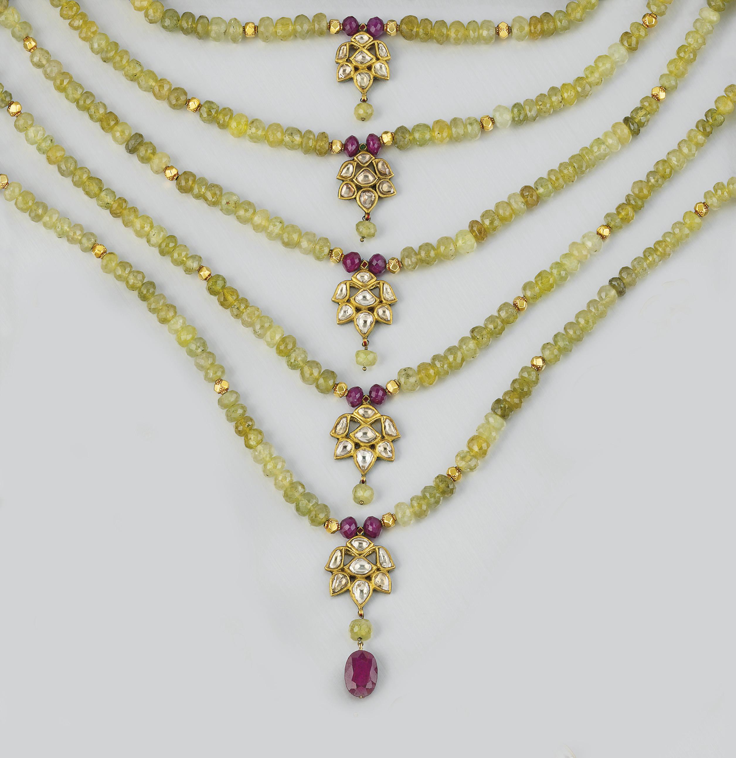 AN INDIAN GEM, DIAMOND AND ENA