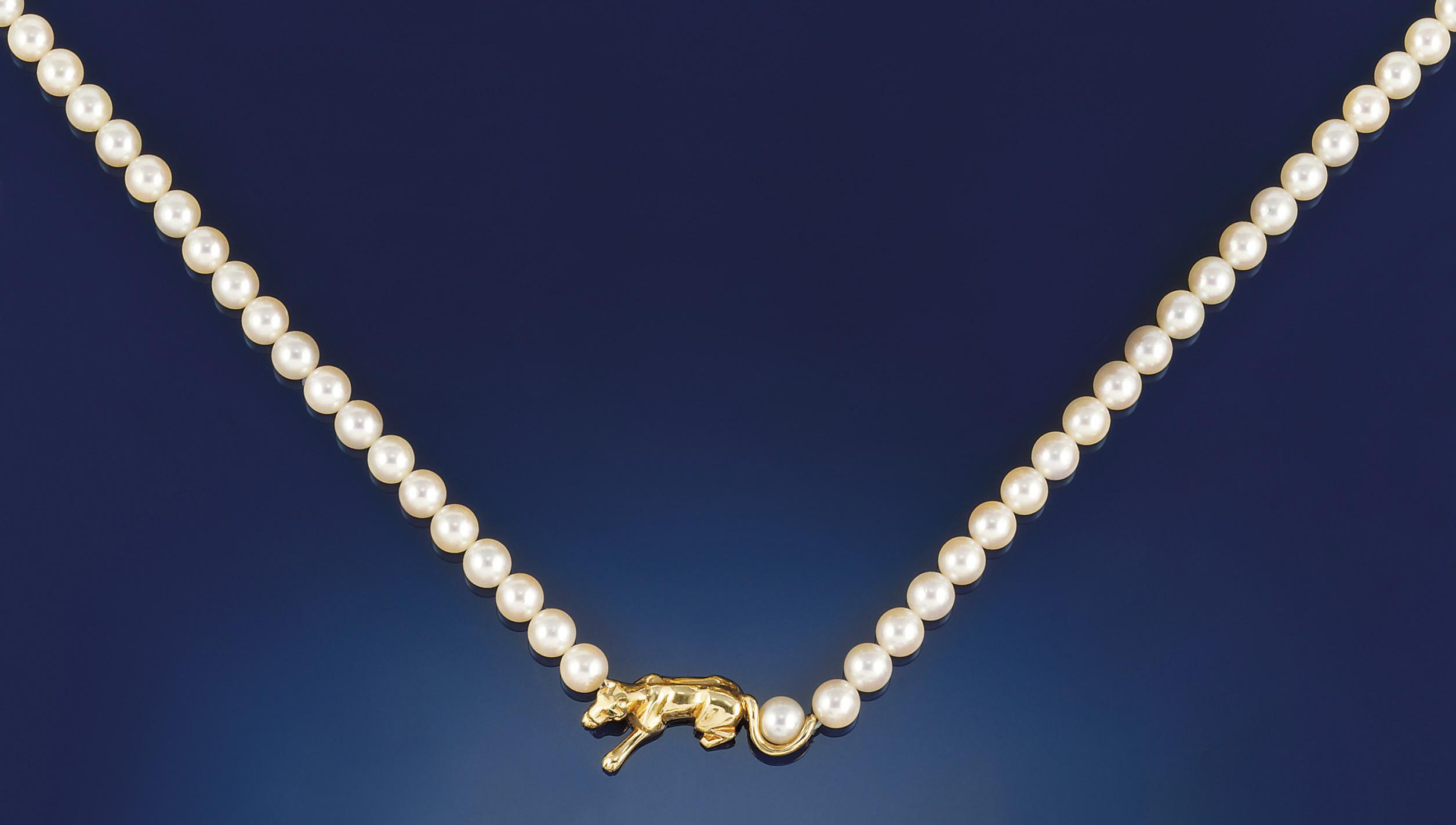 A cultured pearl