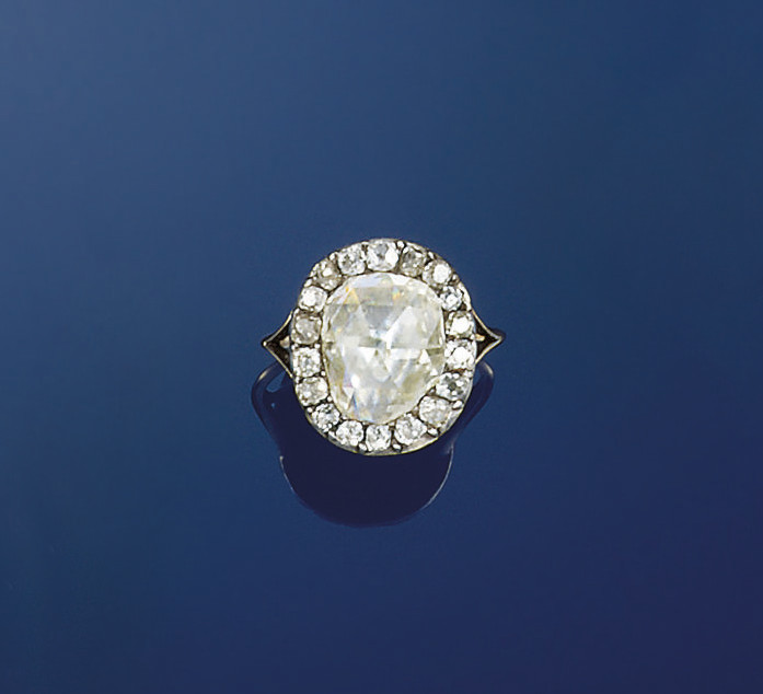 A late 18th century diamond cl