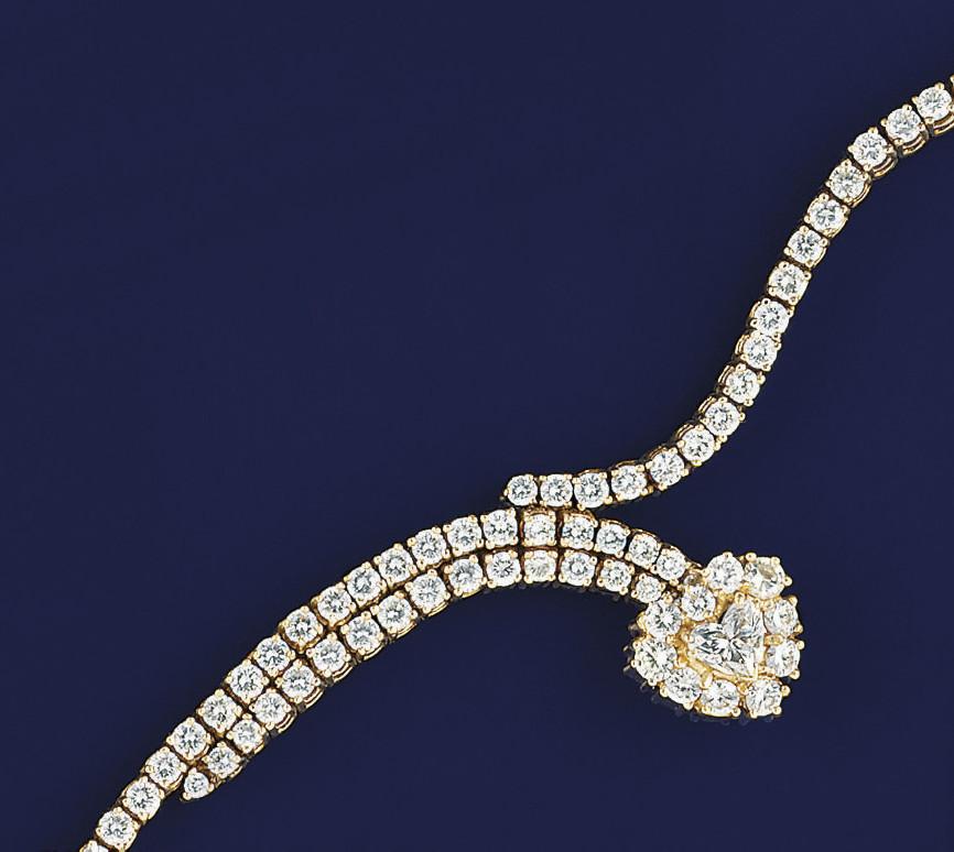 A diamond bracelet, by Chopard