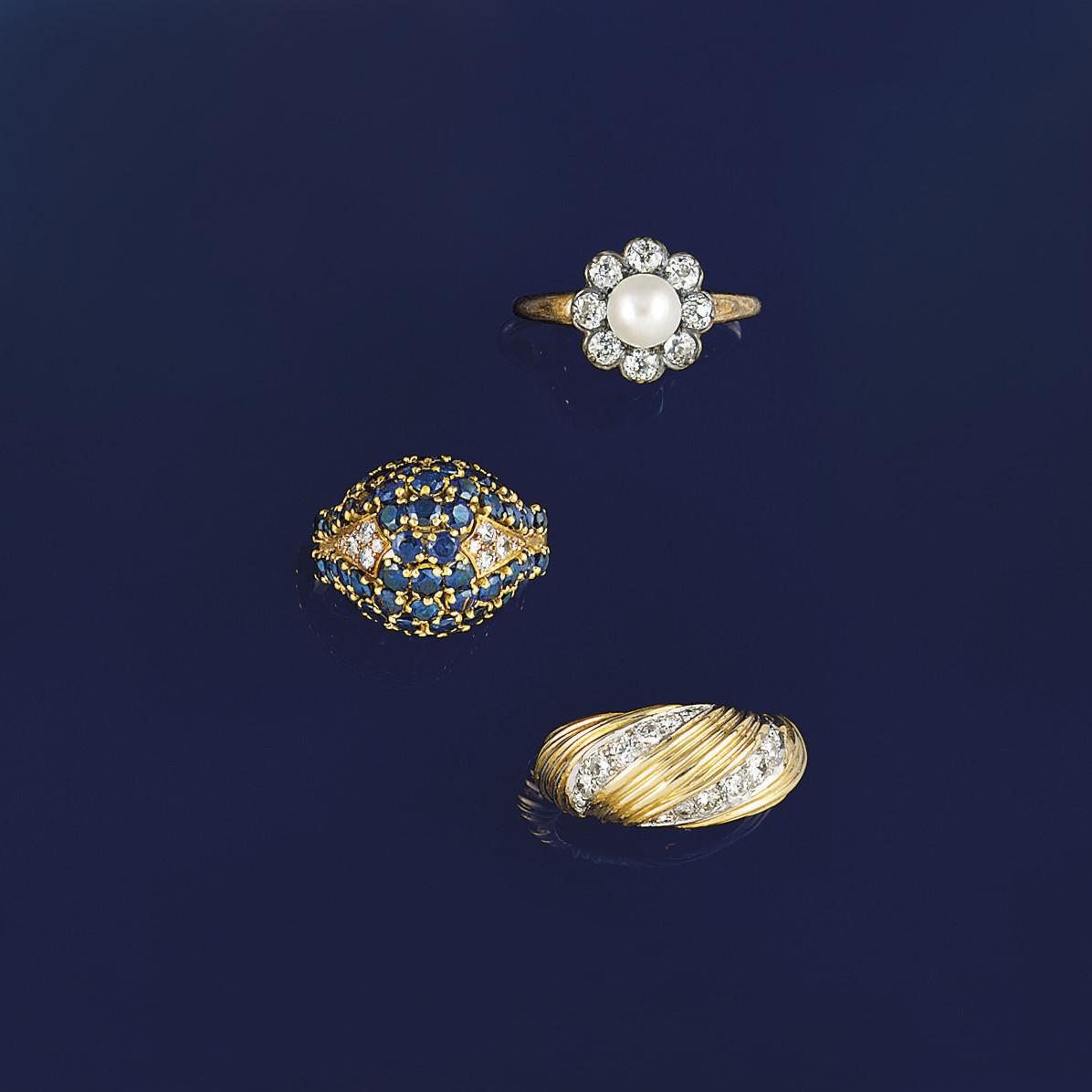 Nine rings